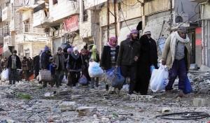 اجلاء المدنيين من حمص القديمة