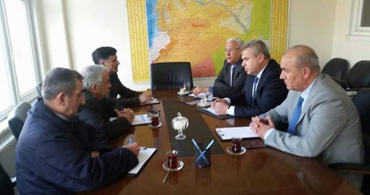 لقاء جمع ممثلية المجلس الوطني الكردي مع منظمة حزب اليسار الديمقراطي السوري في اسطنبول